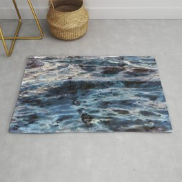 Marble in reverse I Rug
