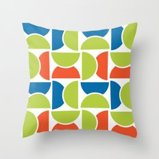 Lime Squeeze Throw Pillow