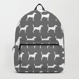 White Harrier Silhouette Backpack