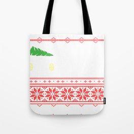 Car Ugly Christmas Gifts Tote Bag