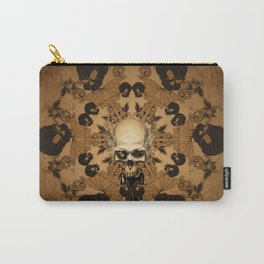 Awesome skull Carry-All Pouch