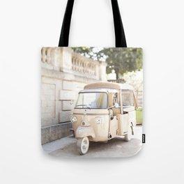Parisian Tuktuk Tote Bag