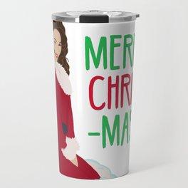 MC All I Want For Christmas Is You Travel Mug