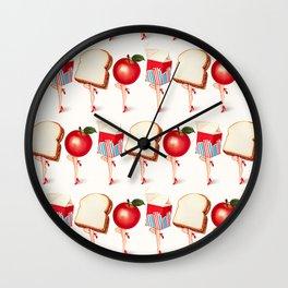 Lunch Ladies Pin-Ups Wall Clock