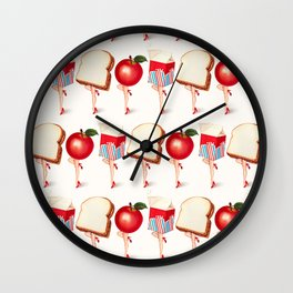 Lunch Ladies Pin-Ups Wall Clock