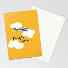 Come fly with me... Stationery Cards