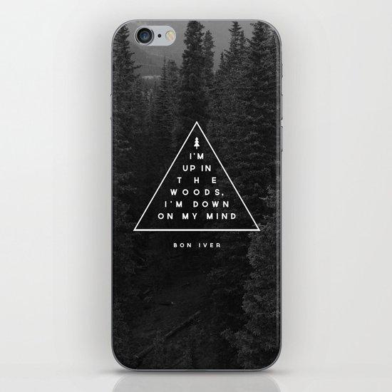 Woods -- Bon Iver iPhone & iPod Skin