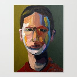 Colorful man Canvas Print