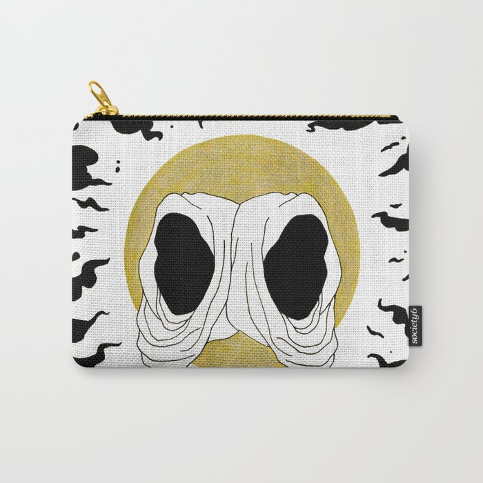 two hoods Carry-All Pouch