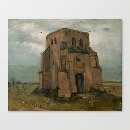 Van Gogh - The old church tower at Nuenen Canvas Print