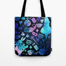 Alice in Wonderland - Galaxy Tote Bag