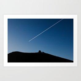 Line in the Sky Art Print