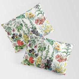 Adolphe Millot - Fleurs A - French vintage poster Pillow Sham