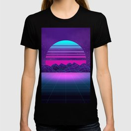 Future Sunset Vaporwave Aesthetic T-shirt