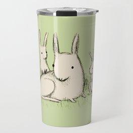 Bunny Family Travel Mug