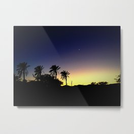 Bedouin Moonrise Metal Print