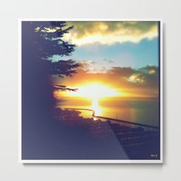 Sunset Hill Park. Ballard. Seattle, WA  Metal Print