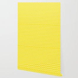 Golden Yellow Moroccan Moods Chevrons Wallpaper
