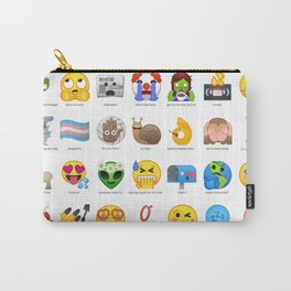 Emojis I wish Existed Carry-All Pouch