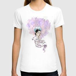 Frida Kahlo Watercolor T-shirt
