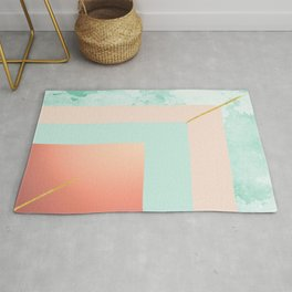 Square shapes Rug