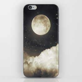 Touch of the moon I iPhone Skin