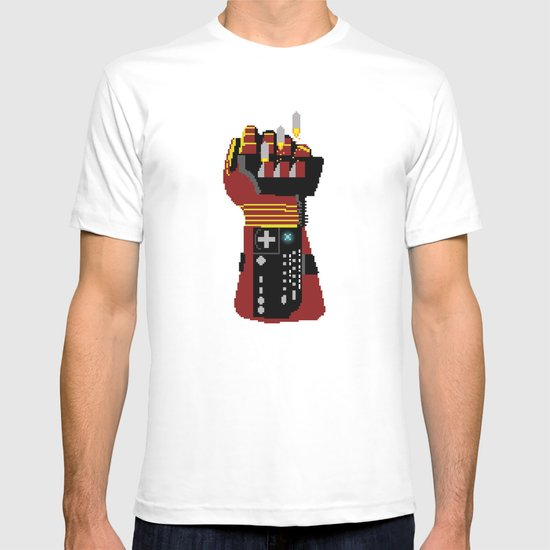 Power Glove Love: Iron Man T-shirt