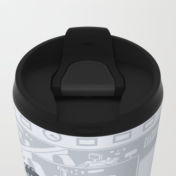 The Terminated Metal Travel Mug
