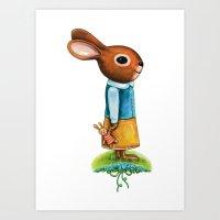 Love somebunny Art Print