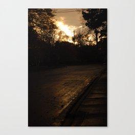Mayfair Ave Canvas Print
