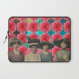 THE FOUR LADIES (WITH FLOWERS) Laptop Sleeve