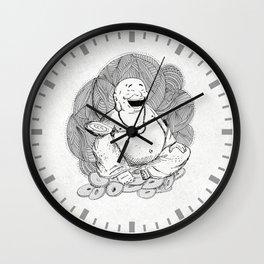 Hotei, Buda , Budda, Budha  Wall Clock