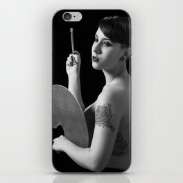 The art of custom corporeal. iPhone Skin