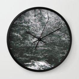 Edge of the Forest Wall Clock