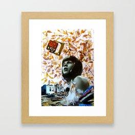 Don t walk!Fly! Framed Art Print