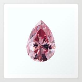 Argyle Diamond Art Print