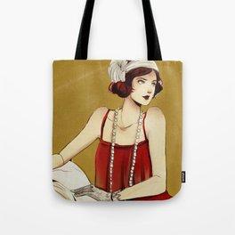 Flapper Girl #2 Tote Bag