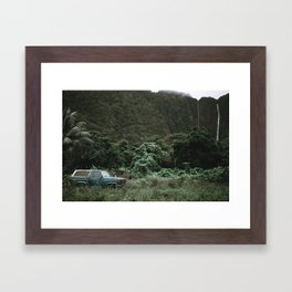 Summer Road Trip / Kaui, Hawaii Framed Art Print