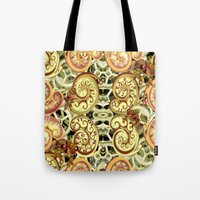 clockwork Tote Bags featuring Clockwork. by Sylvie Heasman