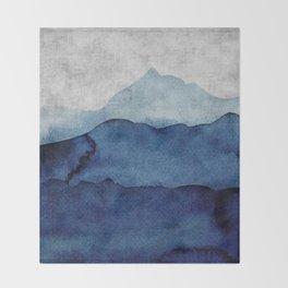 Water color landscape  Throw Blanket
