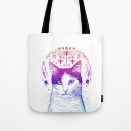 Of cats and insects Tote Bag