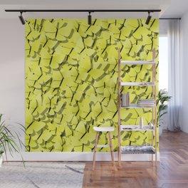 yellow butterflies Wall Mural