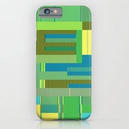 Scandinavian Moon (Parrot Colours) iPhone Case