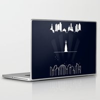 bioshock Laptop & iPad Skins featuring Beyond the doors by rKrovs