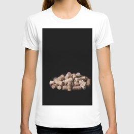 Wine corks close up T-shirt