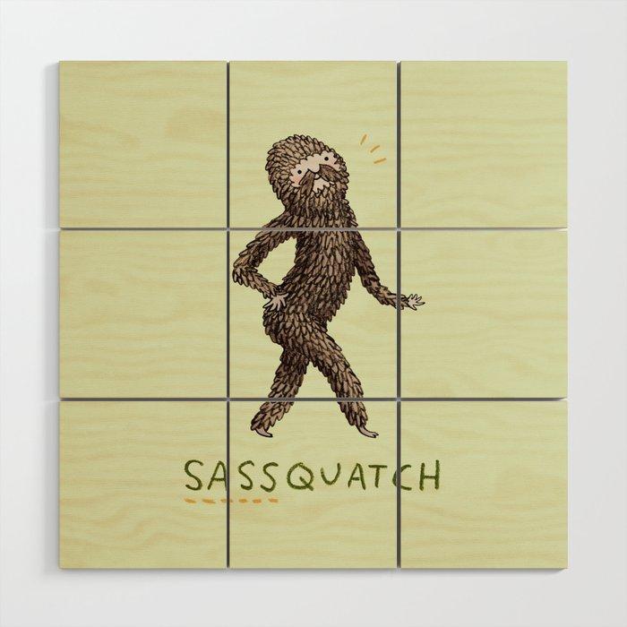 Sassquatch Wood Wall Art