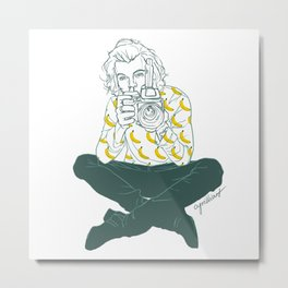 Banana Boy Metal Print