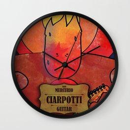 Ciarpotti from Mercury (Guitar) Wall Clock