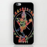shiva iPhone & iPod Skins featuring Shiva Nataraja by Jessica Beth Sporn