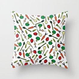 Vegetables 1 Throw Pillow